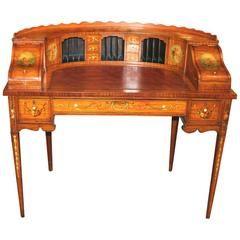 Antique And Vintage Desks And Writing Tables 1 761 For Sale At 1stdibs Vintage Desk Colorful Furniture Satinwood