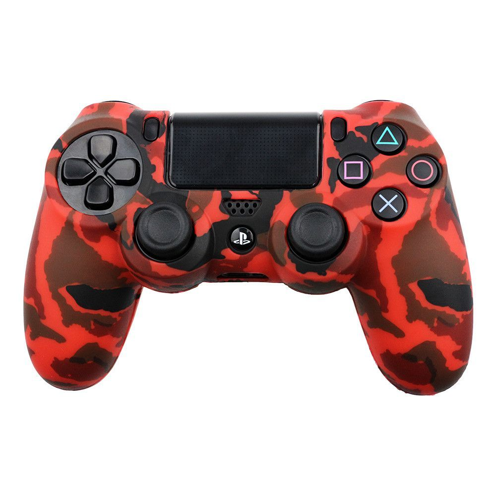 Army design Cover Case Protection Skin For Sony PS4 controller