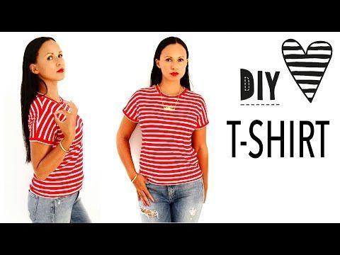 in dieser video-anleitung zeige ich dir, wie du ein einfaches t-shirt ohne schni   shirt