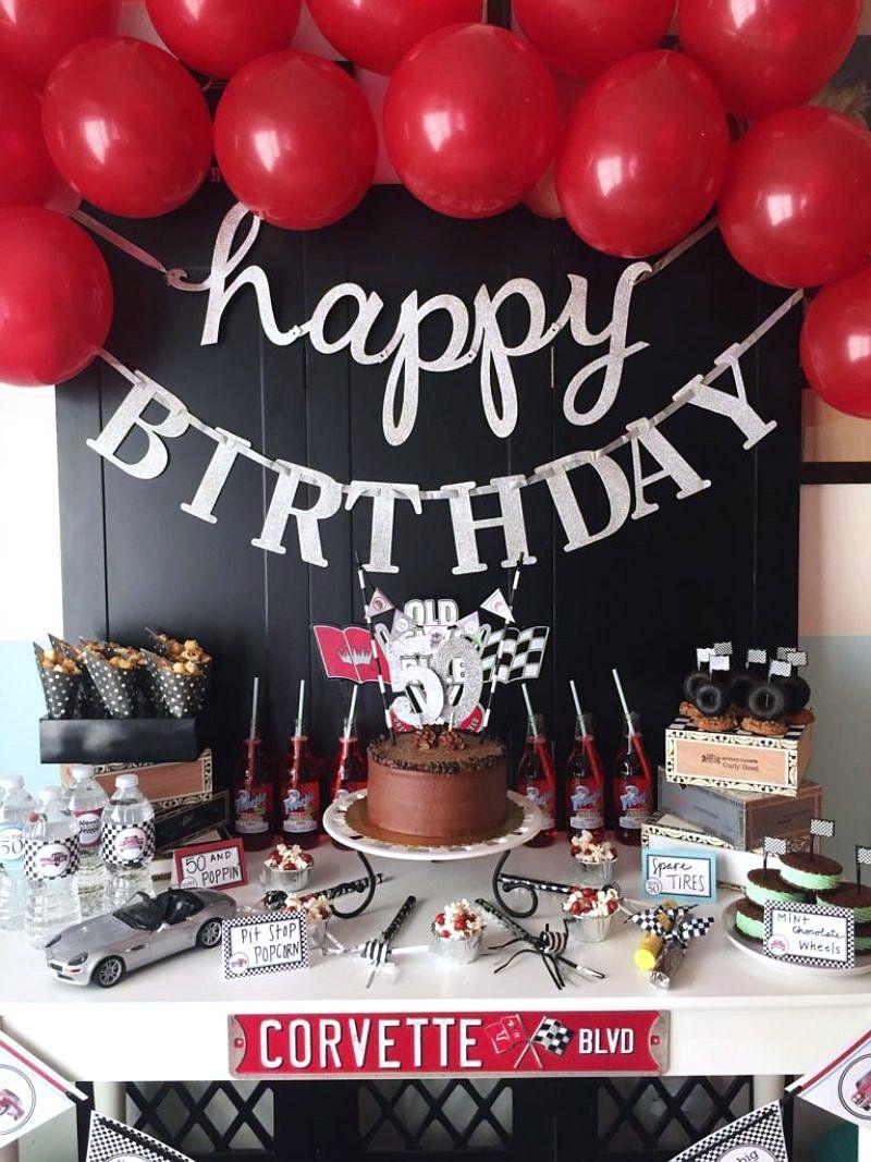 Cars Themed Birthday Party Ideas Via BirdsParty Birdsparty