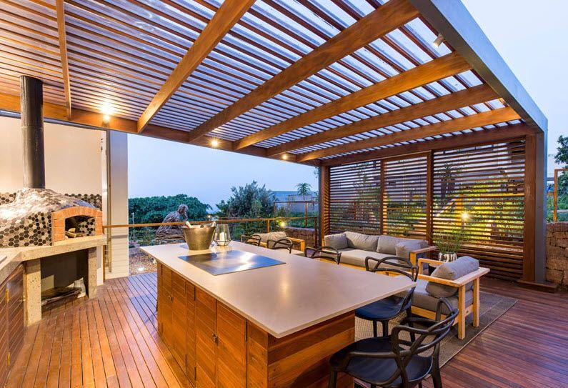 16 Terrazas de madera modernas