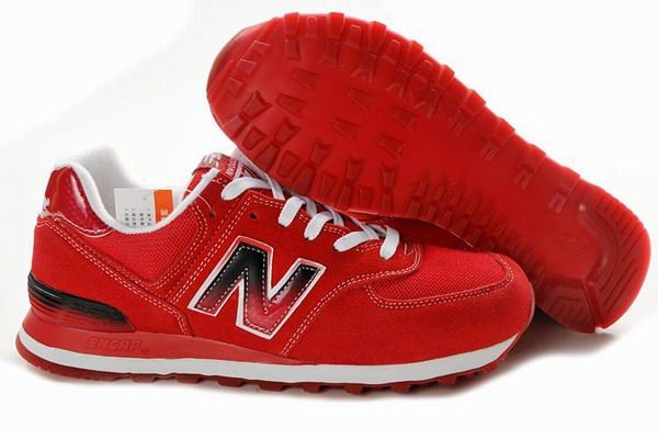Joes New Balance ML574SNO Red White Mens Shoes