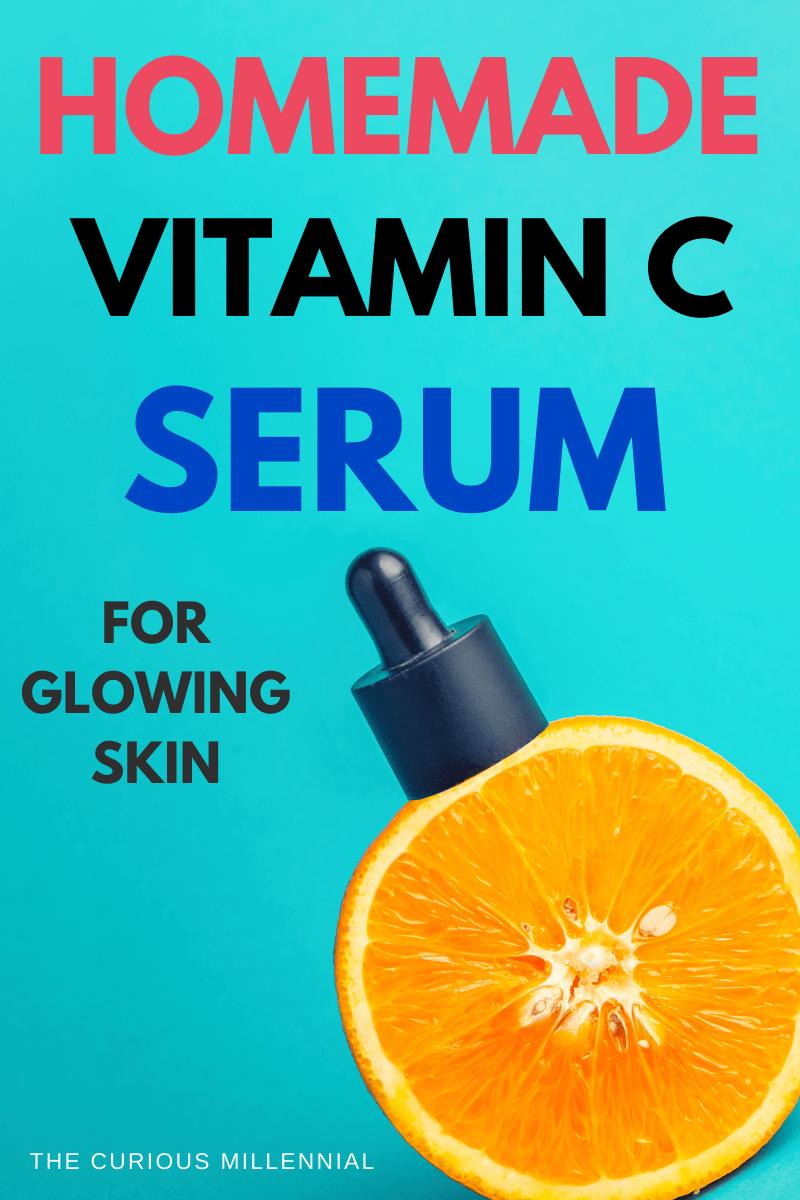 Diy Vitamin C Serum For Glowing Face In 2020 Diy Vitamin C Serum Diy Skin Care Recipes Skin Care