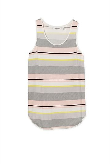 Colour Block Tank $49.95 xxs