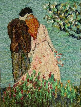 Aa Bride 18 X 24 Sharon A Smith Off The Hook Wool Rugs