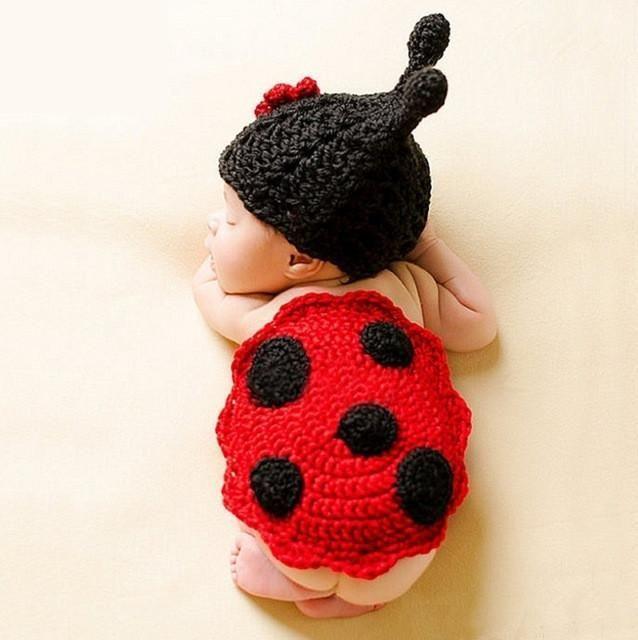 Photo of Handmade Crochet Baby Photography Props