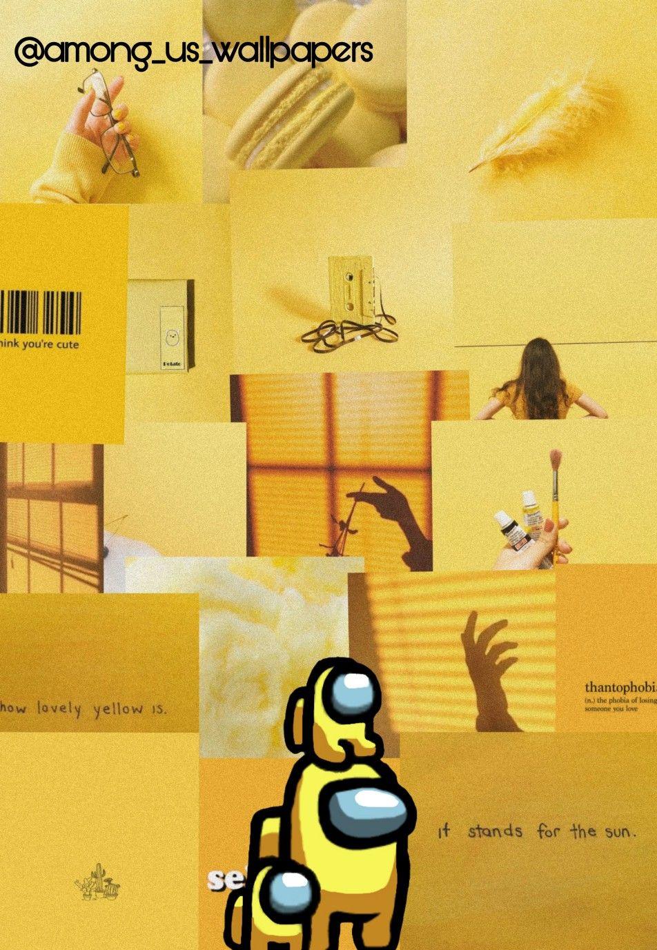 Among Us Wallpapers Yellow Among Us Wallpapers Among Us Yellow Yellow A Iphone Wallpaper Yellow Wallpaper Iphone Neon Iphone Wallpaper Tumblr Aesthetic