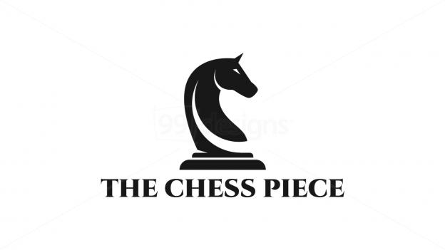 knight chess piece � readymade logo designs 99designs