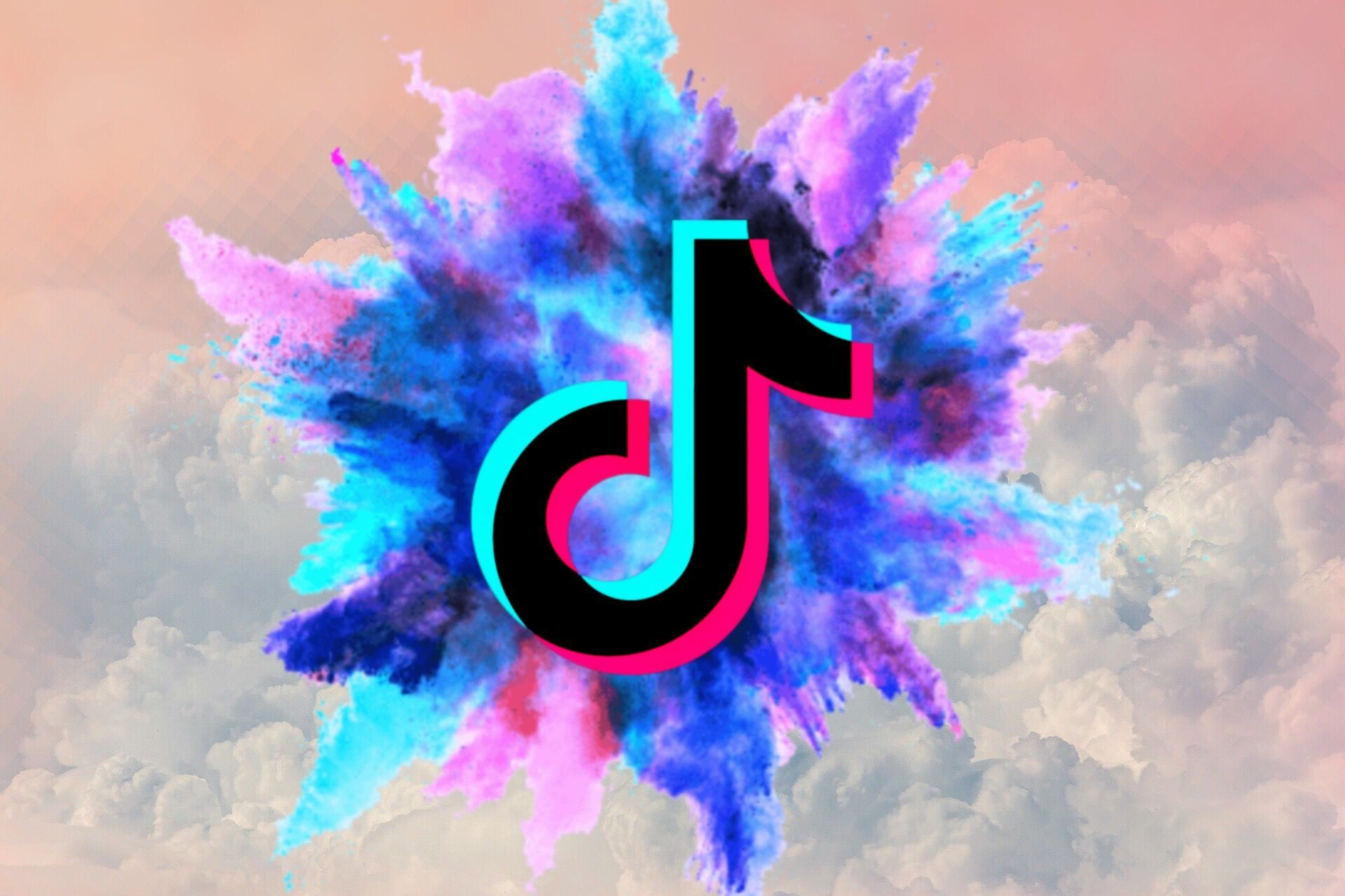 tiktok logo in 2020 Cute emoji wallpaper, Iphone