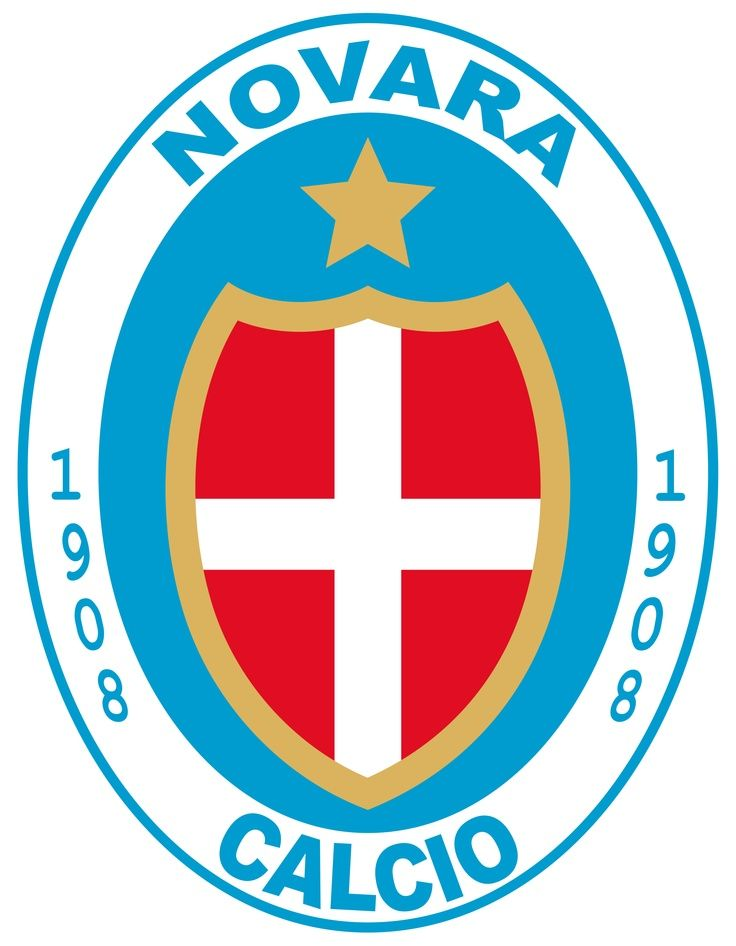 Novara Logo Of Italy Football Club Pinterest Sepak Bola