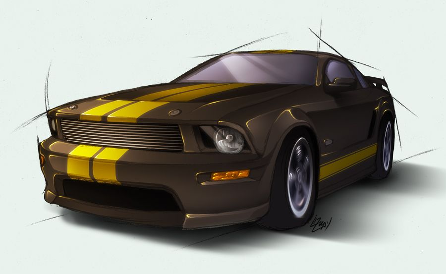 2007 Ford Mustang Shelby Gt H By Lizkay On Deviantart Ford Mustang Shelby Gt Mustang Shelby 2007 Ford Mustang
