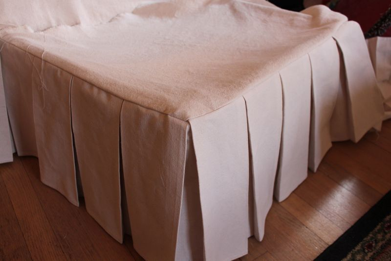 How to Slipcover a Slipper Chair, Part Two: Making a ...