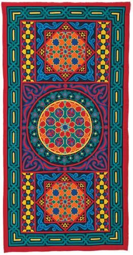 Egyptian Applique Khayameya size 100 *180 cm you can order by send e ...