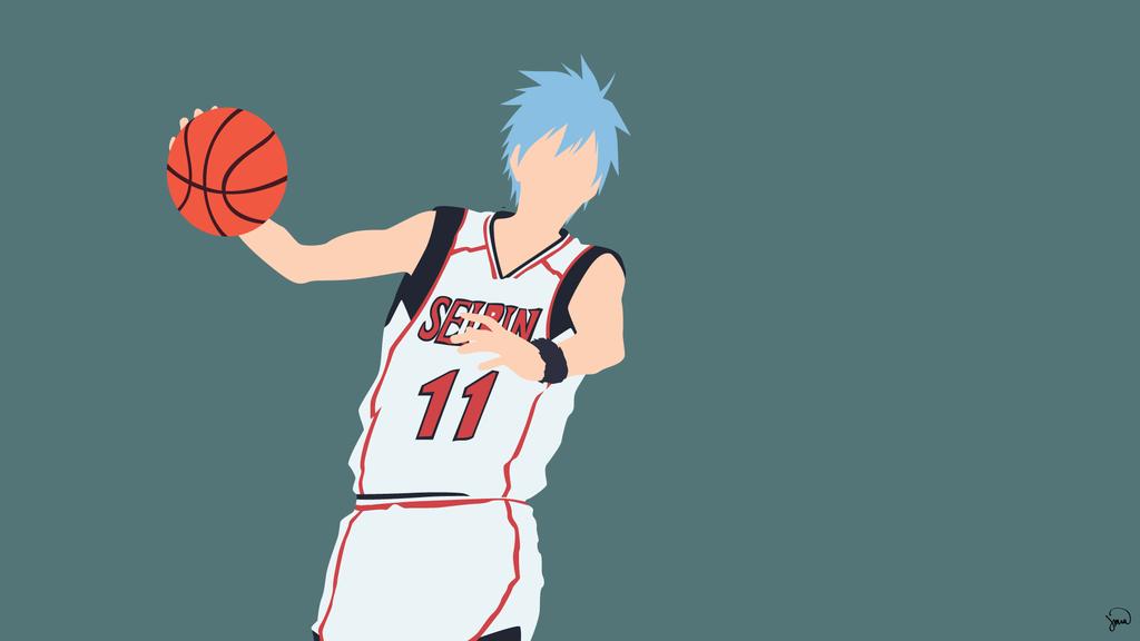 Kuroko Tetsuya Kuroko No Basuke Minimalism Kuroko No Basket Kuroko Tetsuya Kuroko