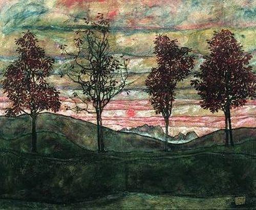 Egon Schiele Landscapes | we eat. happy.: egon schiele. landscapes.