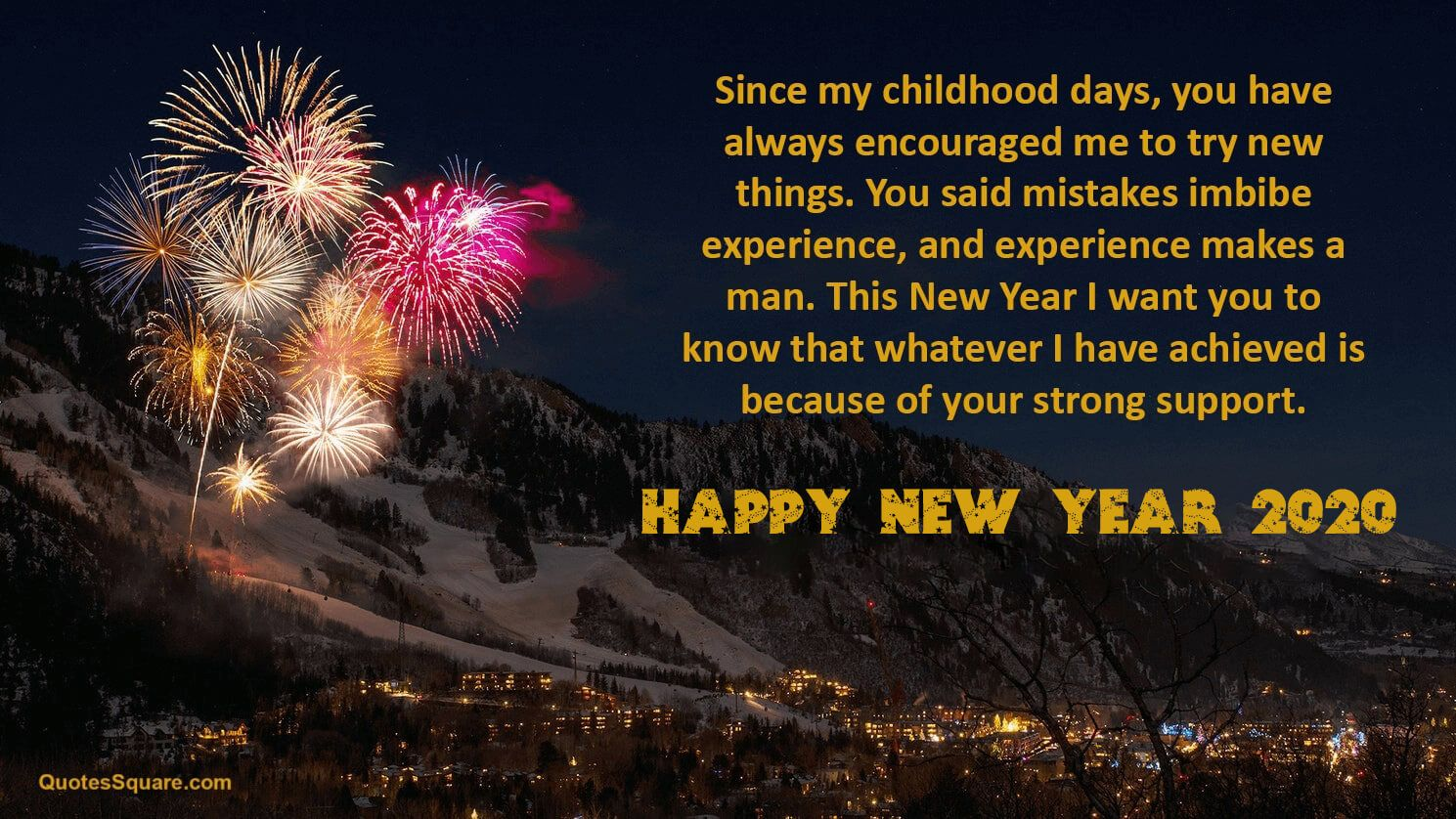 20 Happy New Year 2021 Wishes for Elders (Senior Citizens
