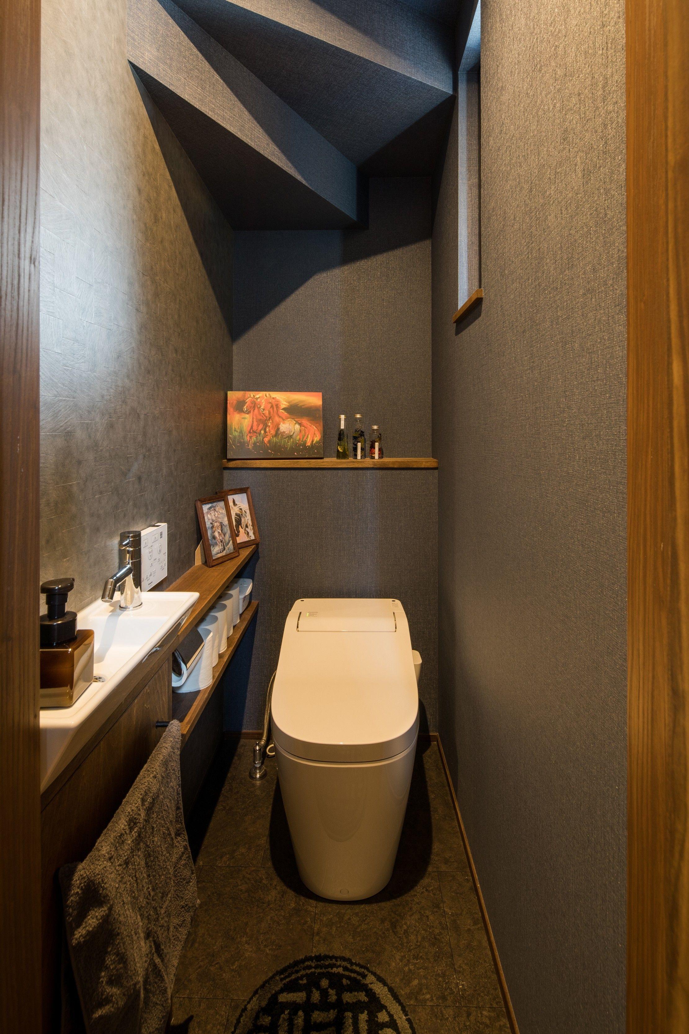 独立した空間としてレイアウトされたトイレ ルポハウス 設計事務所