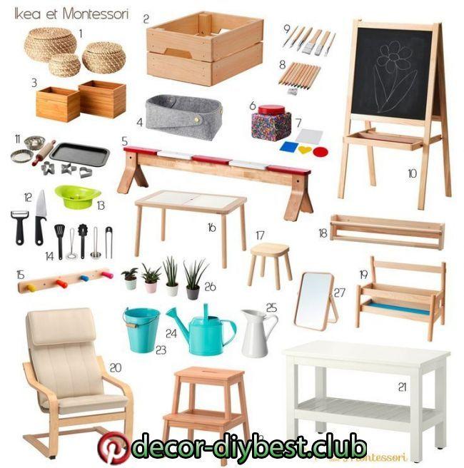 Decouvrez Une Selection De Mes Dernieres Trouvailles Chez Ikea Qui Trouvent T Playroom Ikea Toddler Room Montessori Toddler Rooms Montessori Furniture