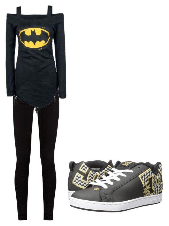 """""""Untitled #1314"""" by mirra95 on Polyvore featuring Gucci and DC Shoes"""