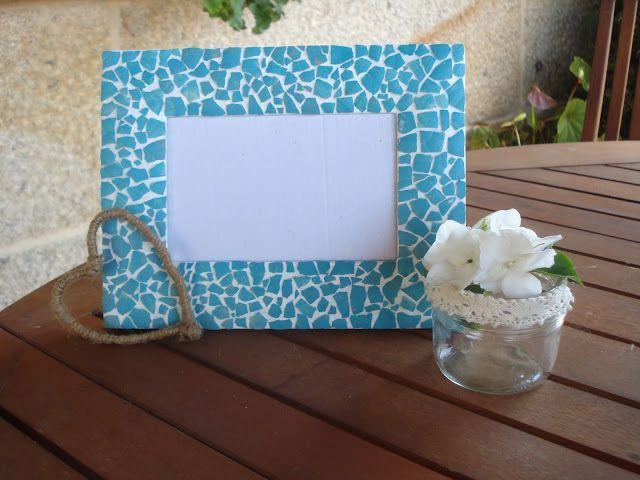 Xanela Vintage: Mosaico con cáscara de huevo | cuadros | Pinterest ...