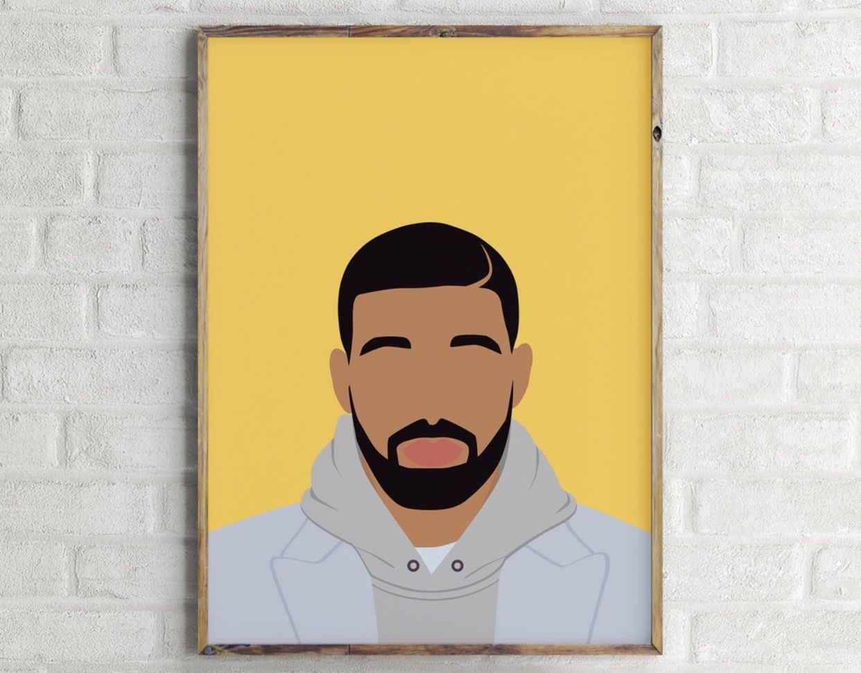 DRAKE digital Print. Available at contemporaryologie.etsy.com ...