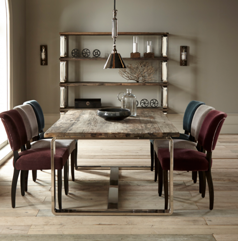Condo Collection From Halo Living Is Made Reclaimed Safras Wood Chinese Junks Table 1485 Www Haloliving Co Uk