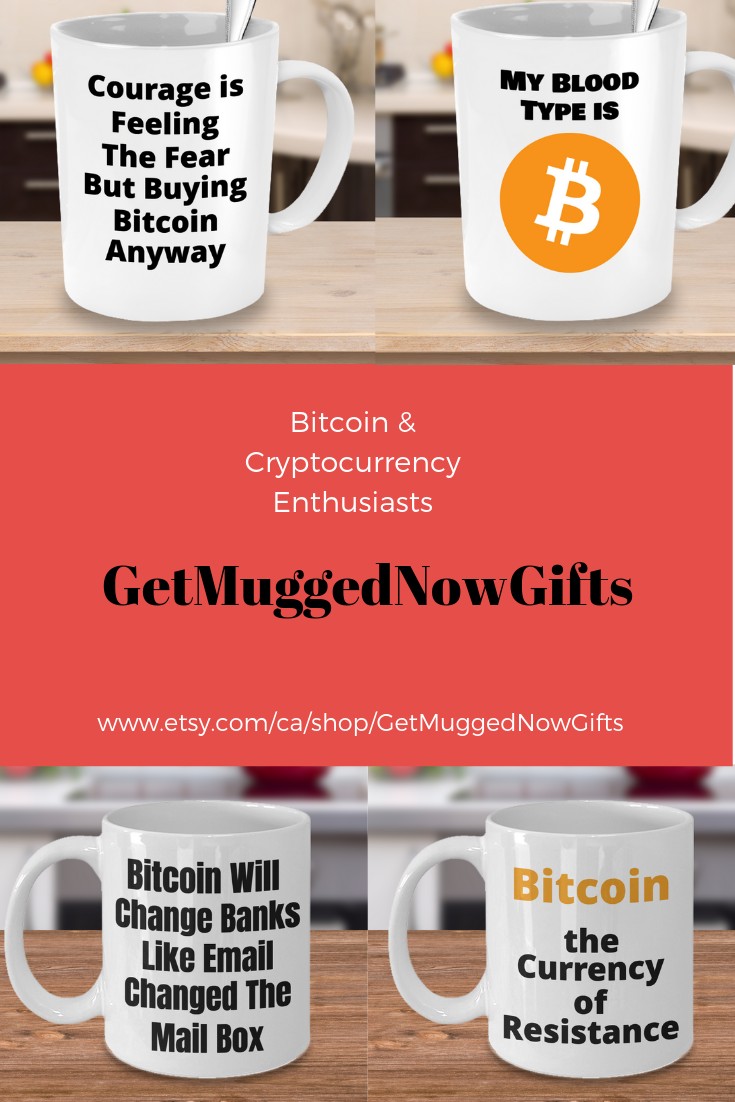 Bitcoin Enthusiast Gift Ceramic Coffee Mug Top Quality ...