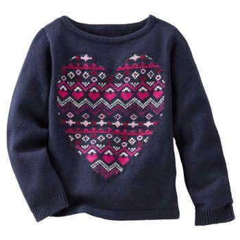 Neon Fair Isle Heart Sweater | Heart sweater, Fair isles and Neon