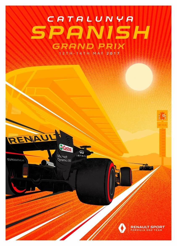 Renault F1-11 F14 Motivation Formula Sport Lewis Hamilton Racing Poster
