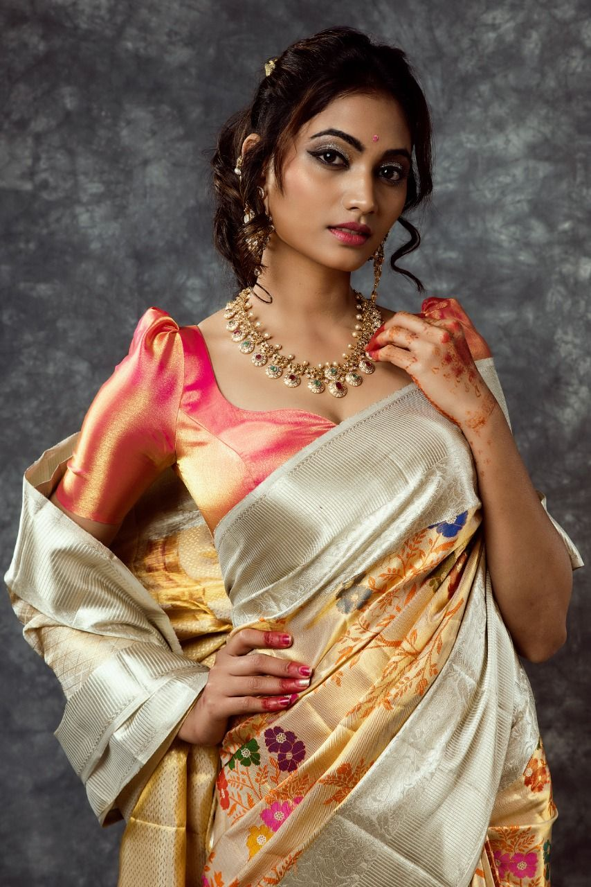 566f23cd44a37 beautiful kanchi pattu saree. beautiful kanchi pattu saree Traditional Blouse  Designs ...