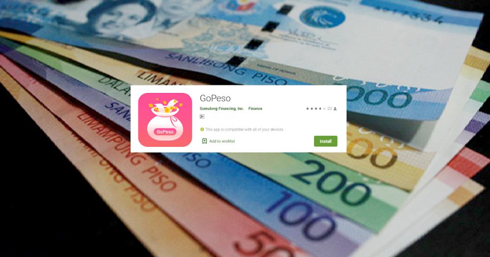 GoPeso Lending company, Lending app, Easy cash
