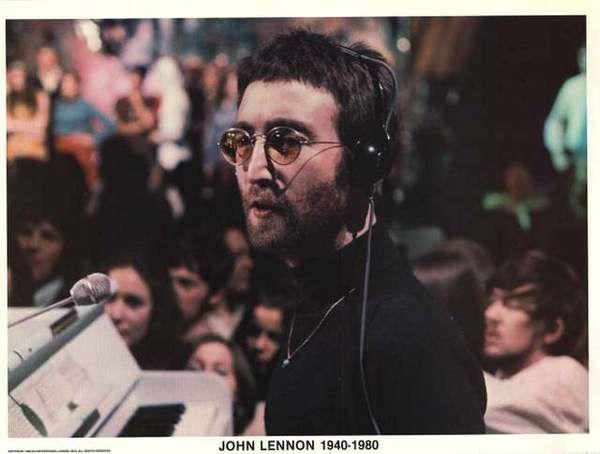 John Lennon Instant Karma 1980 Poster 24x33 John Lennon Beatles Imagine John Lennon John Lennon