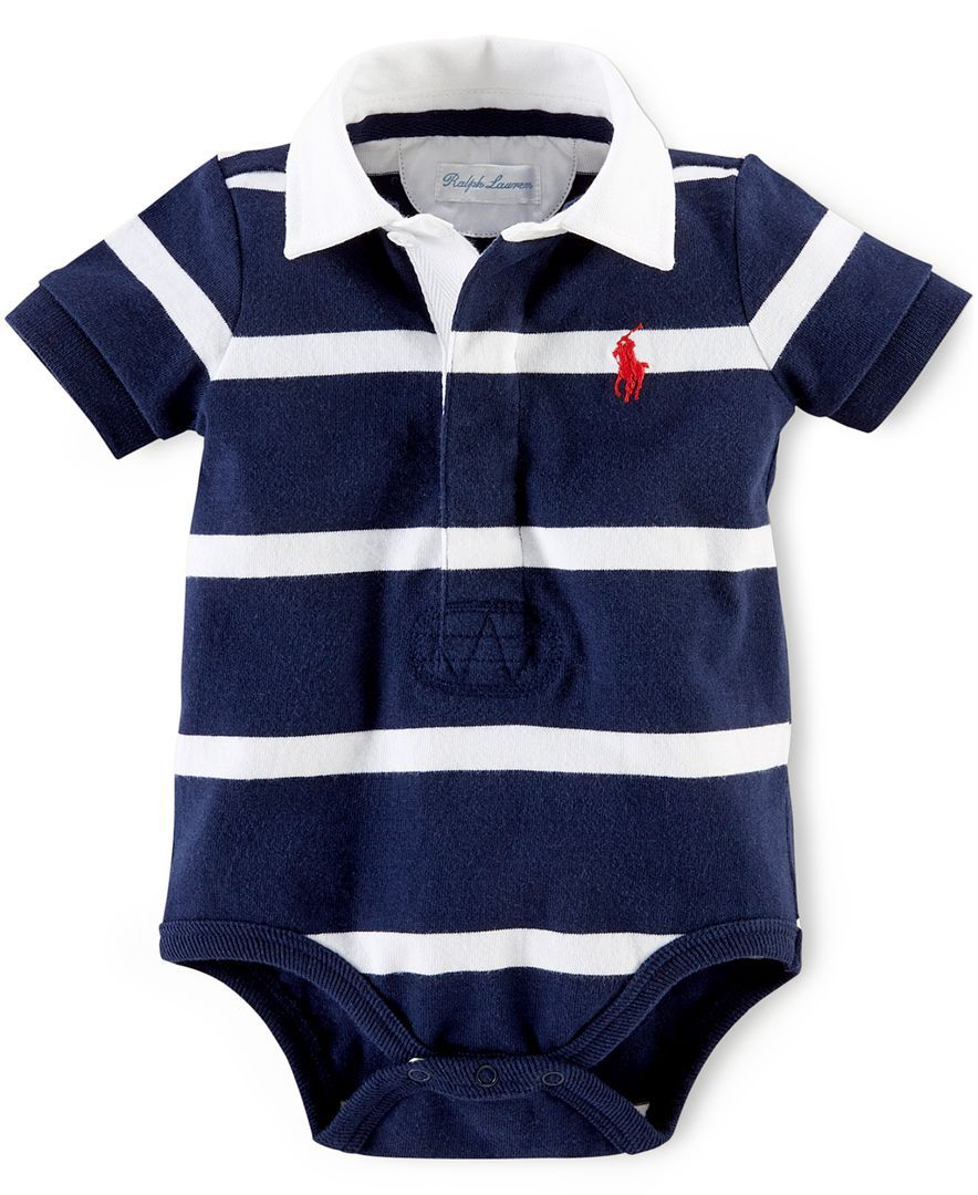 Macys baby hair accessories - Polo Ralph Lauren Baby Boys Striped Polo Bodysuit Kids Baby Macy S