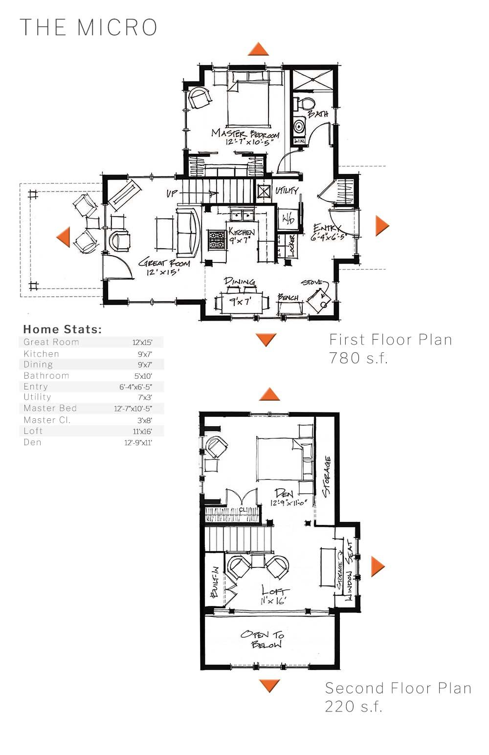 Layout And Dimensions Of Our Micro Home Design
