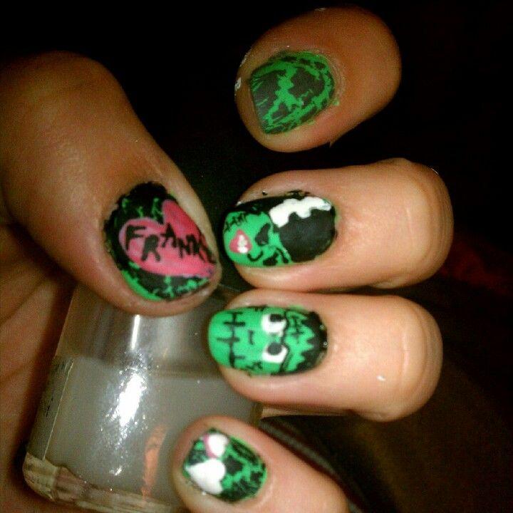 Piggieluv Galaxy Donuts Nail Art: Frankie N Bride Nails By Marcy