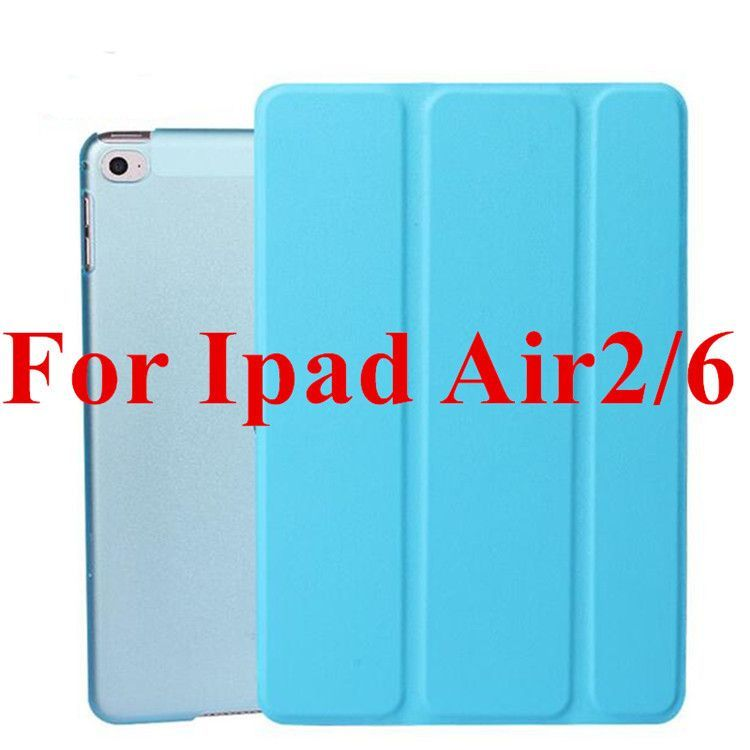 Super Slim Cover for Apple IPad Air 2/6 Case Original Ultra Flip Leather Stand Case Gift HD Screen Protector with Stylus Pen