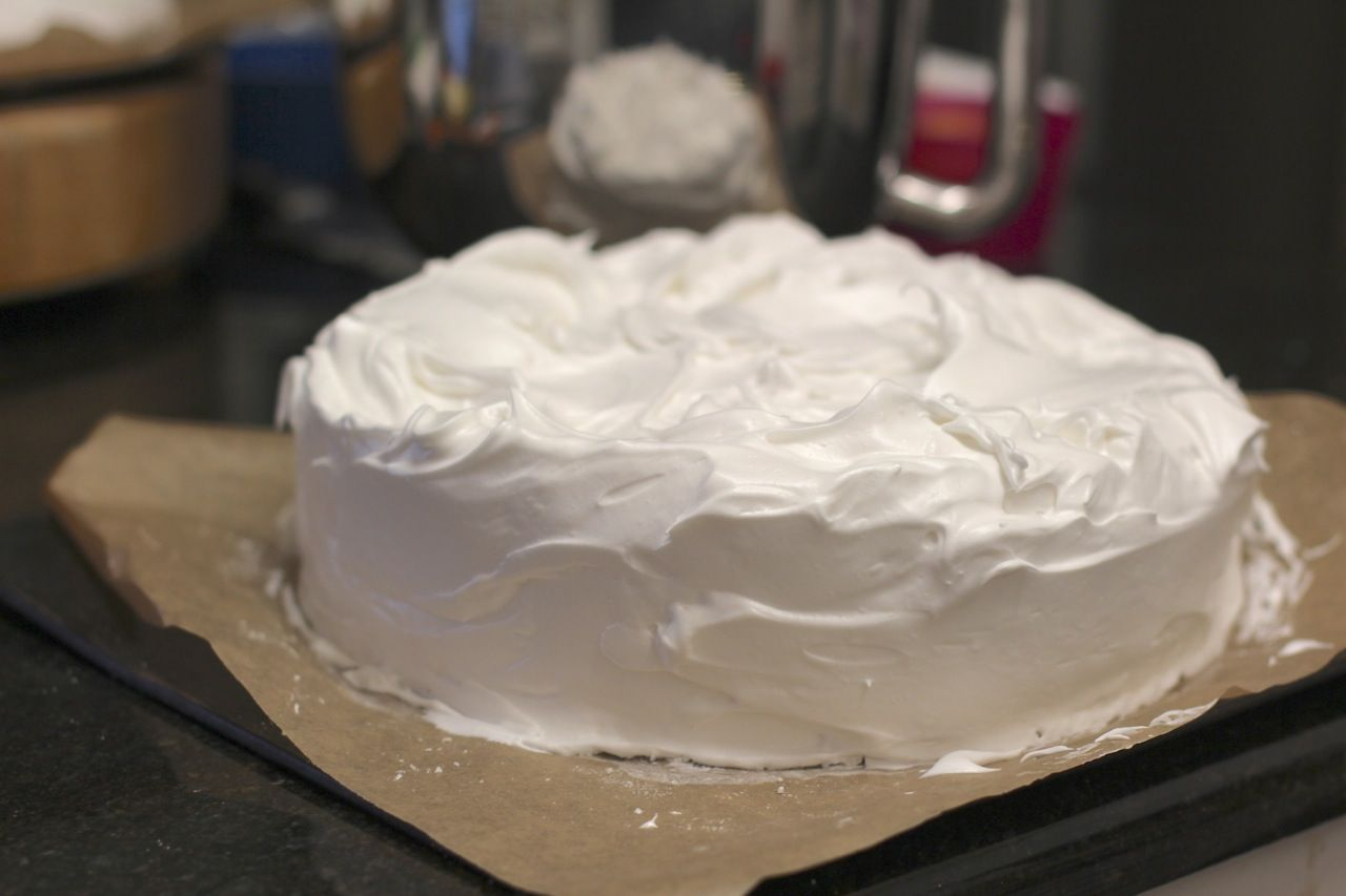 Fair dinkum aussie pavlova marshmallowvegan egg free