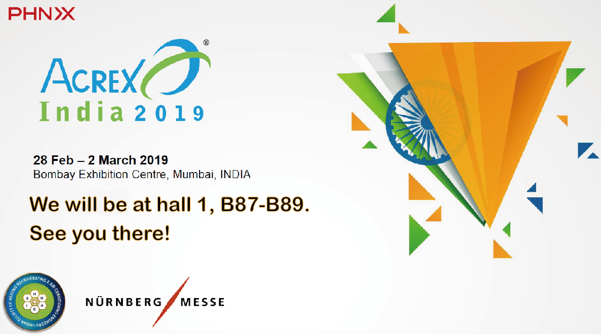 We will be attending ACREX India 2019 from 28 Feb2 March