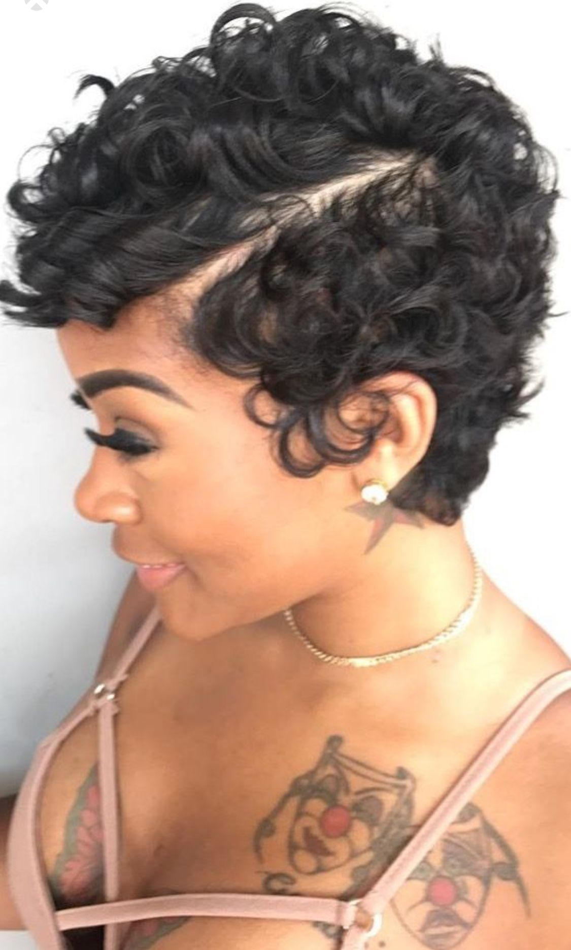 love the pin curl look | hair in 2019 | short hair styles