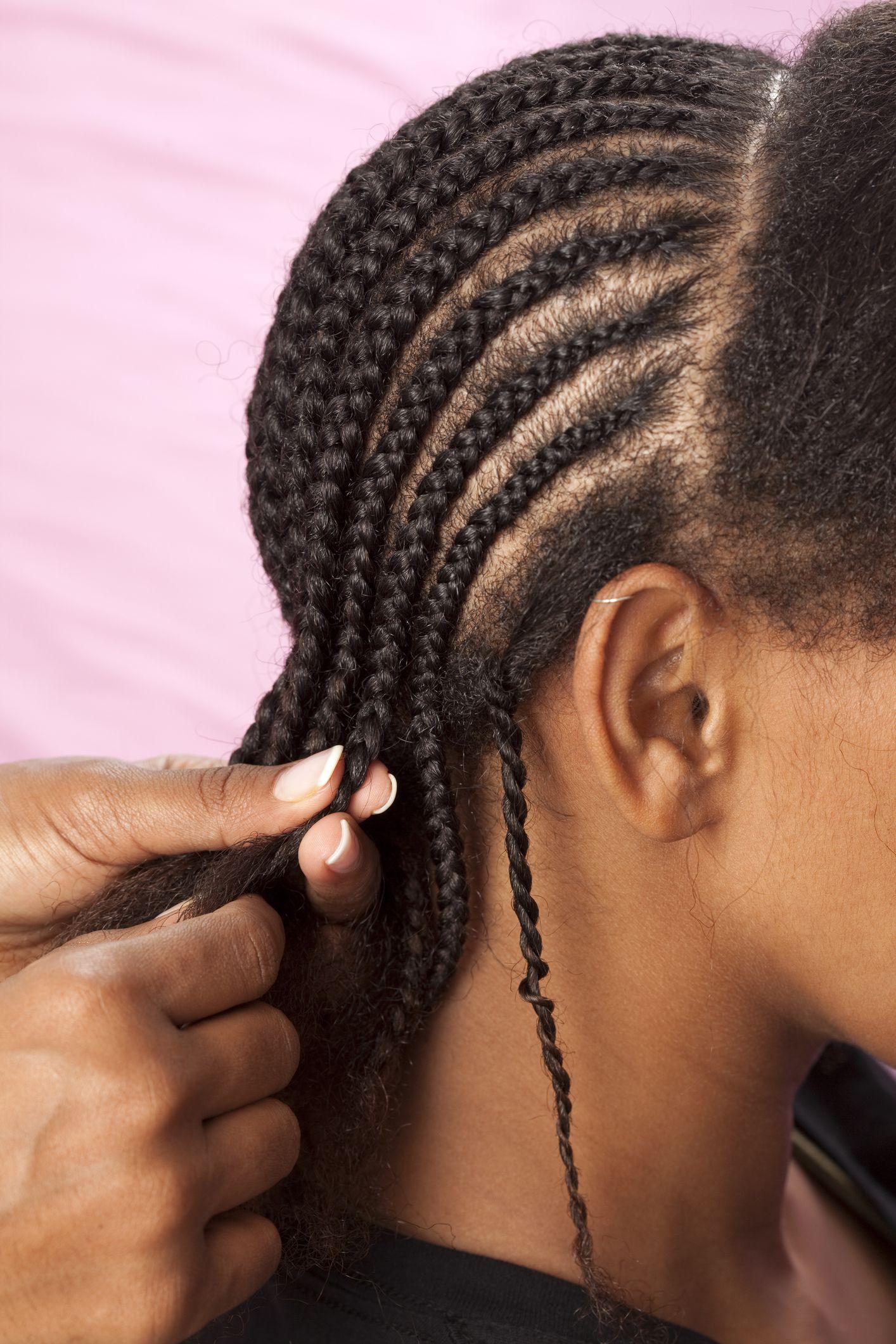 Cornrow Braids In Hair