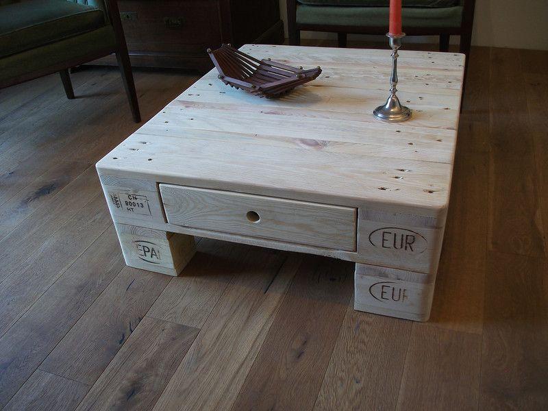Couchtische - Palettentisch - Palettenmöbel - Couchtisch - ein Designerstück von Iris-Kuhn bei DaWanda