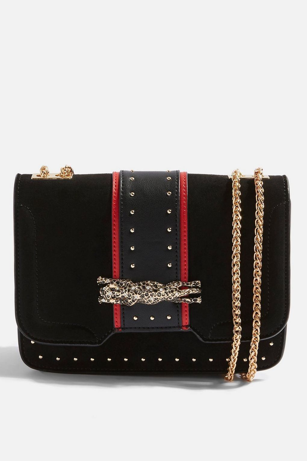 2f6f8a2d5 Panther Piece Cross Body Bag - Bags & Purses - Bags & Accessories - Topshop