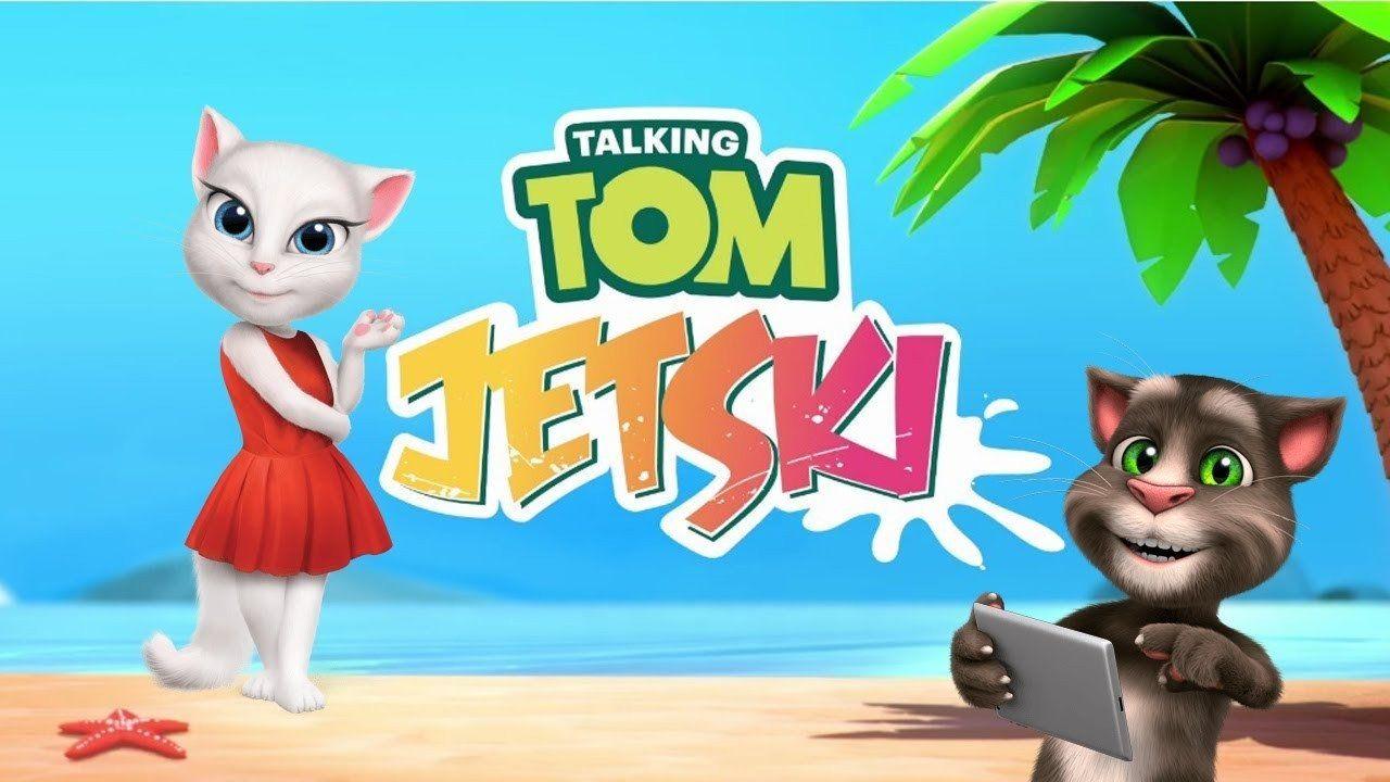 Talking Tom Jetski 2 in 2020 Talking tom, Animal games