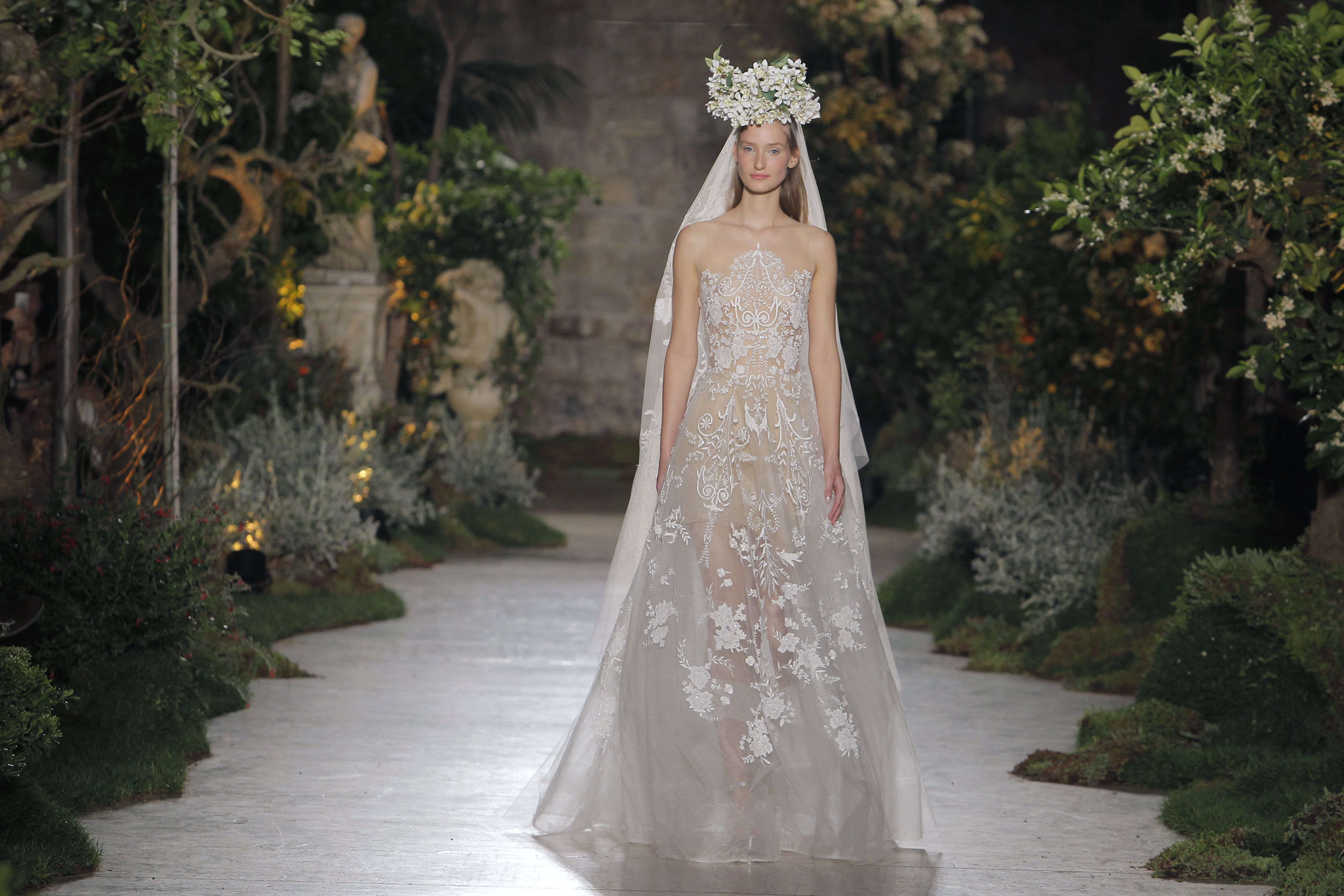 Reem acra barcelona wedding collection barcelona in