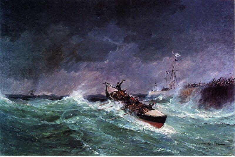 Les expositions : Tempêtes, naufrages et sauvetages en mer 1850-1900 |  Tempete, Expositions, Naufrage