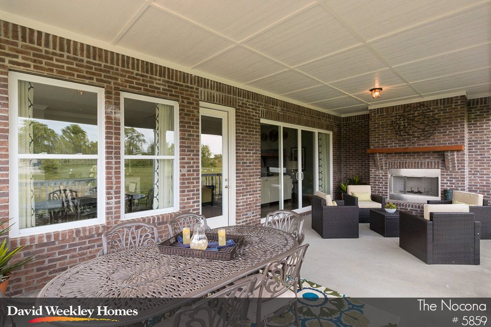 Spacious Outdoor Living space at The Nocona in Indianapolis, IN