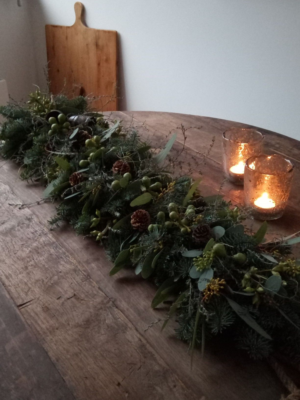 Christmas garland. #adventkransen