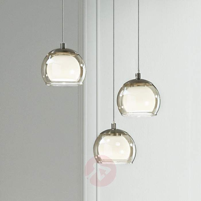 Lampara Colgante Led Con 3 Bombillas Ascolese 3031921 30 Hanging Lights Light Lamp Light