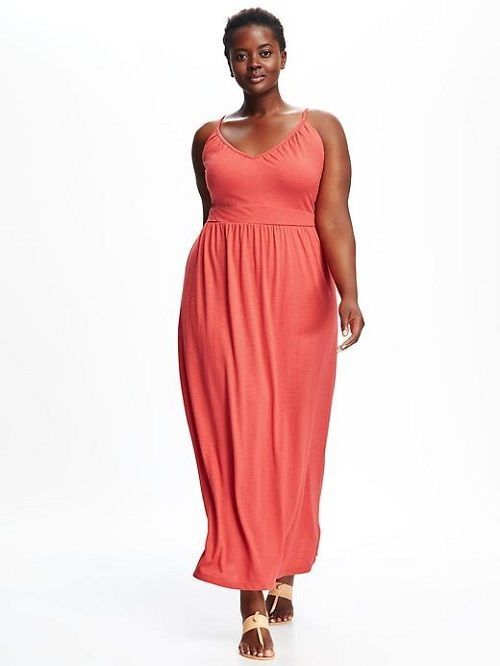 Plus Size Empire Waist Maxi Dress Size 4X by Old Navy | eBay | All ...