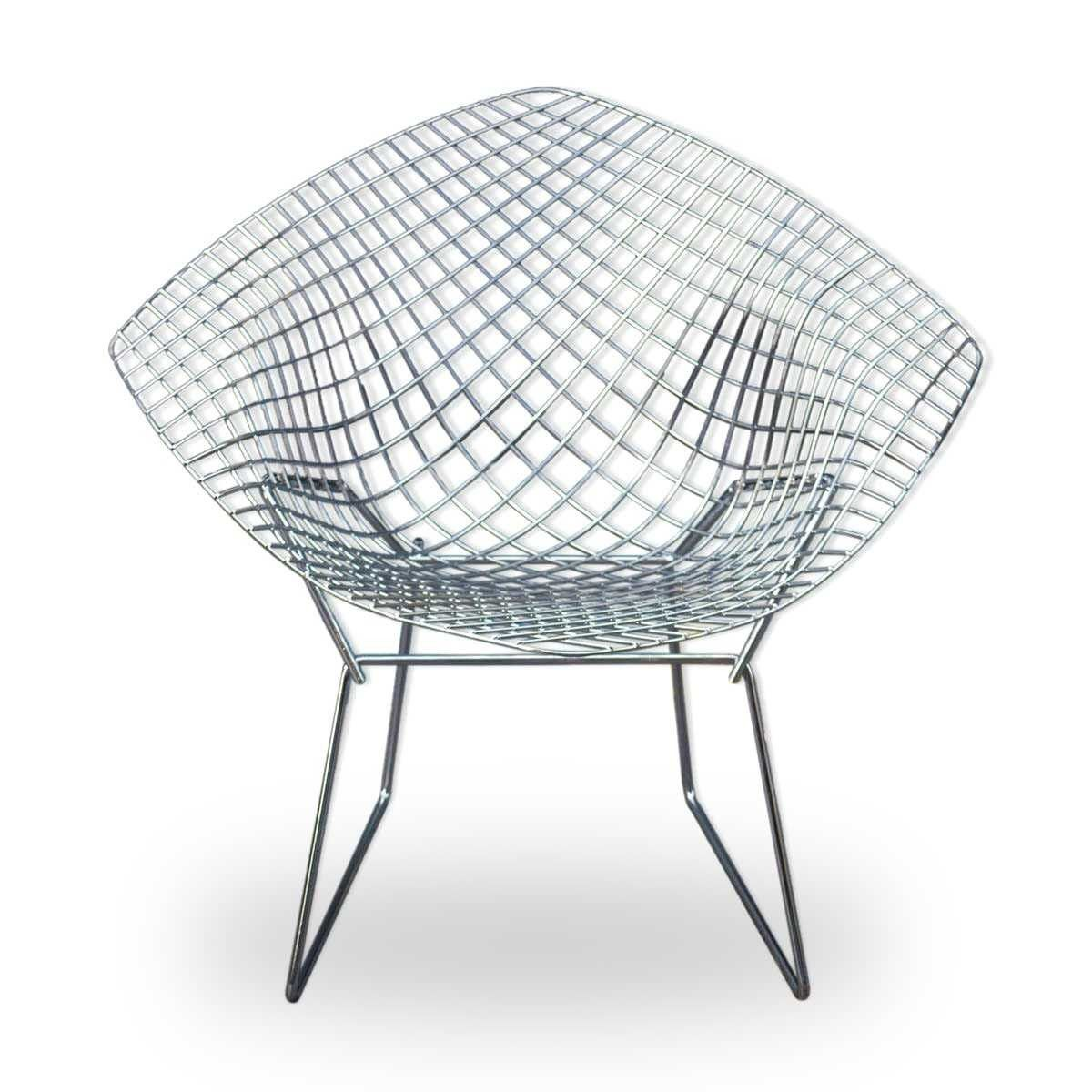 Fauteuil Diamond De Harry Bertoia Pour Knoll 2000 Design Market Harry Bertoia Chaise Moderne Fauteuil